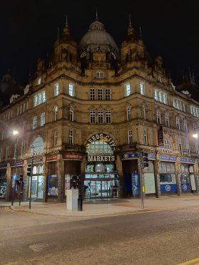 Leeds Markets - Nightscape