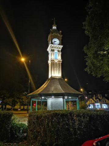 Roundhay Clock - night Mode