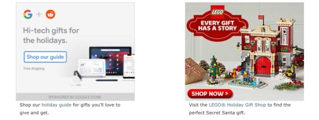 Google Store Reddit Secret Santa