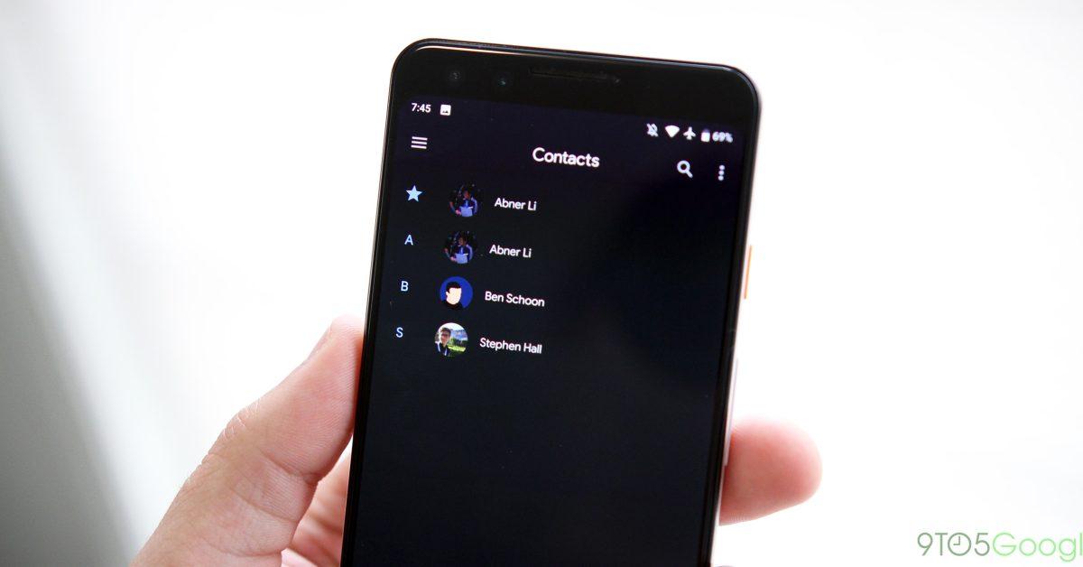 Contacts for Android losing built-in Google Pay integration - 9to5Google
