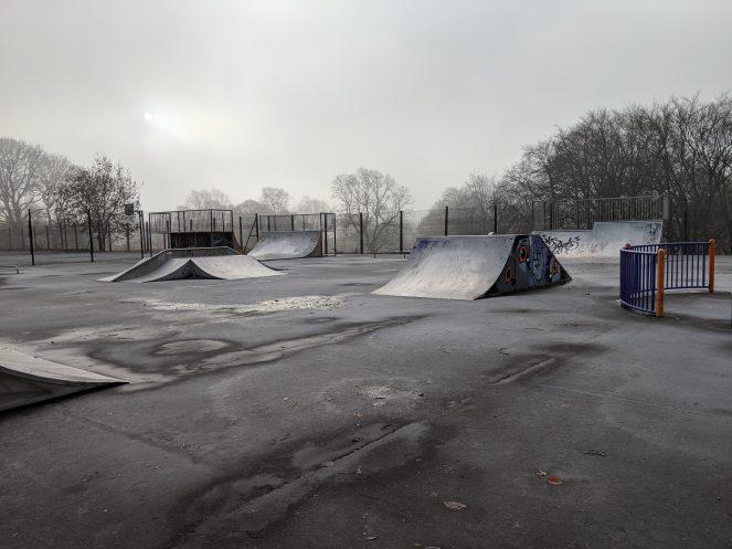 Pixel 3 XL - Skatepark open