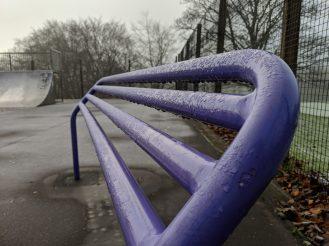 Pixel 3 XL - Purple lean railing