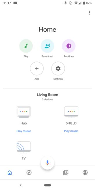 Google Home 2.8