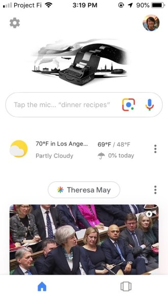 Google Lens iOS rolling out