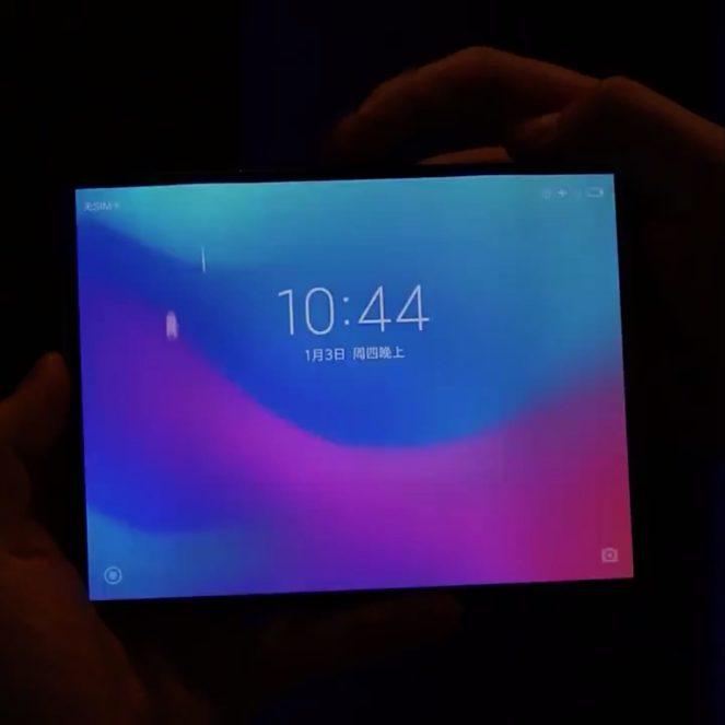 Impressive Xiaomi Android foldable leak