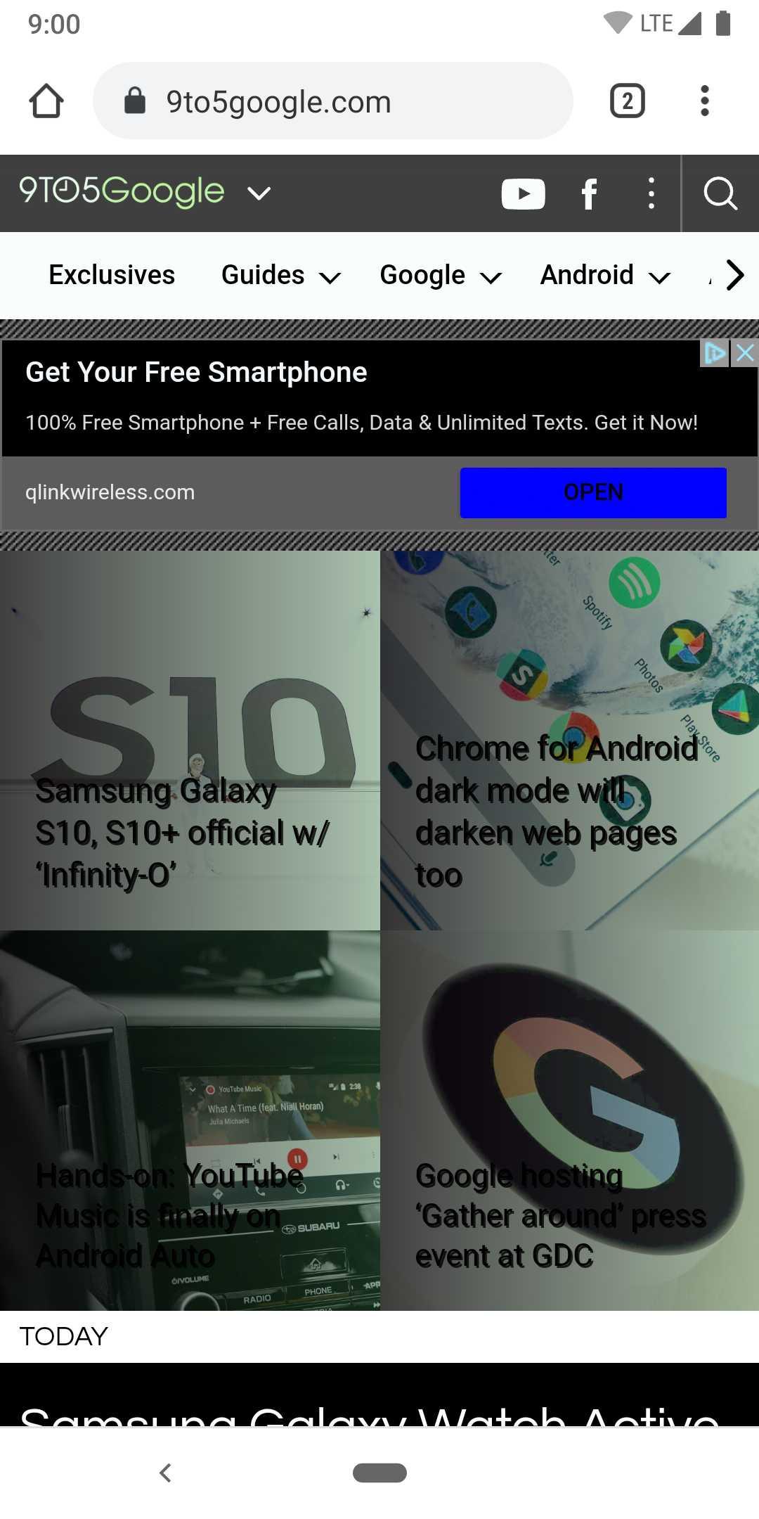 [Update: Screenshots] Der dunkle Modus in Chrome für Android und WebView wird auch Webseiten dunkler machen