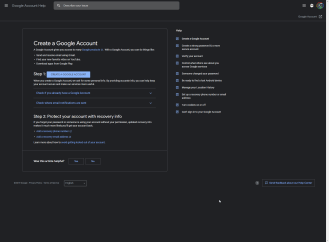 Das Google-Hilfe-Center verfügt über einen integrierten dunklen Modus für die Fehlersuche und die Übungsseiten im Web