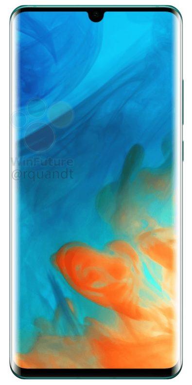 Huawei P30 Pro render 3
