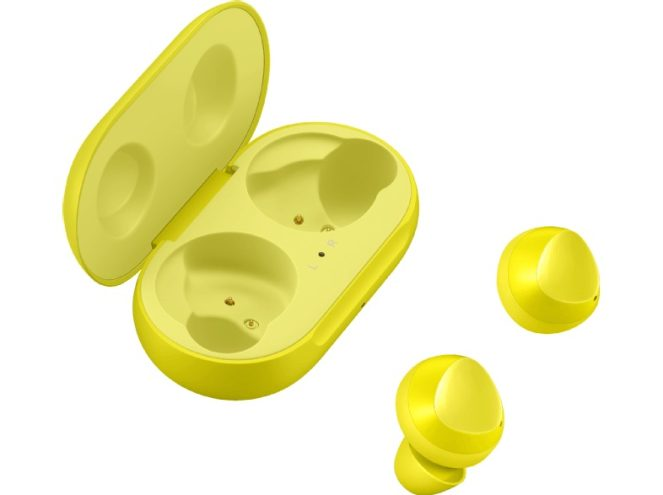 Samsung Galaxy Buds canary yellow