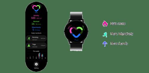 samsung galaxy watch active health features