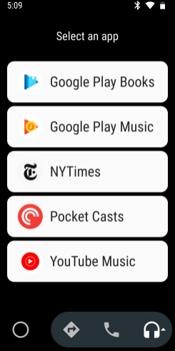YouTube Music 3.03 Android Auto