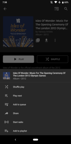 YouTube Music 2.69