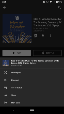 YouTube Music 2.57