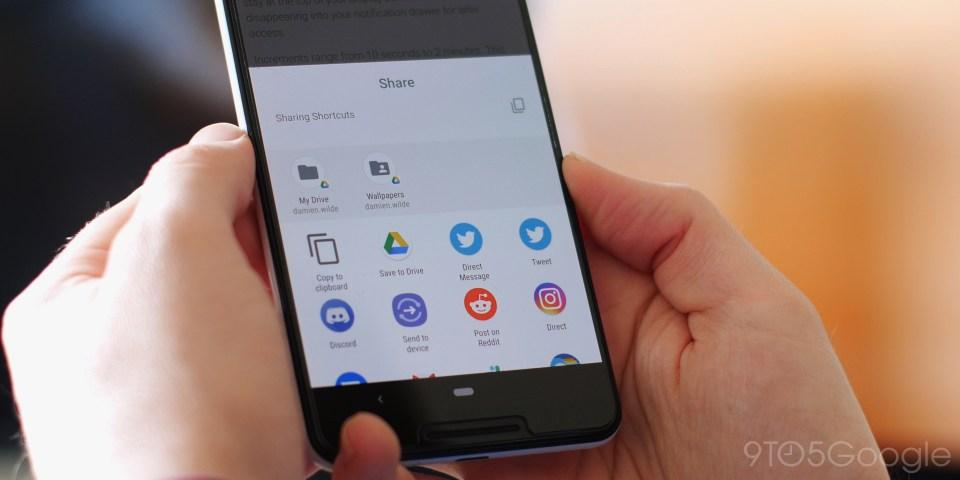 Berbagi Pintasan Android Q Beta 1