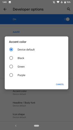 Hier ist alles neu in Android Q Beta 1 [Galerie]
