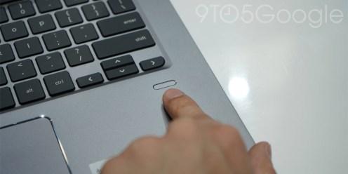Acer Chromebook 714 fingerprint sensor