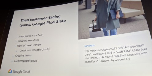 Google next Pixelbook target