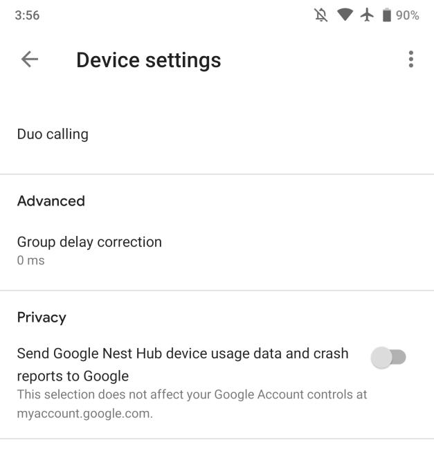 Google Home 2.11