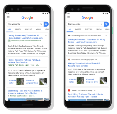 [Update: Einführung] Die Google-Suche fügt jedem Ergebnis Website-Favoriten hinzu, beginnend mit dem Handy