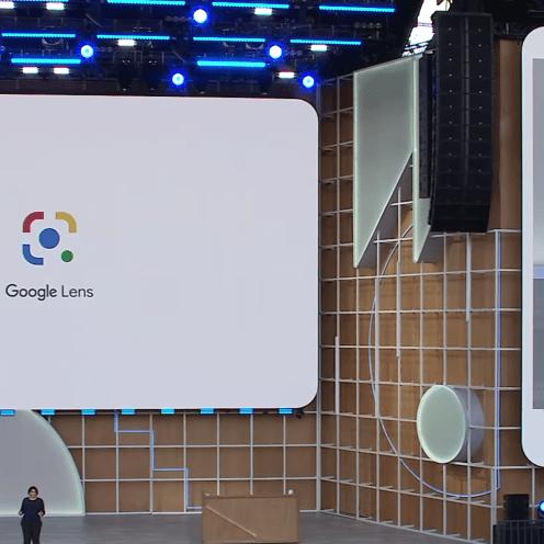 New Google Lens icon