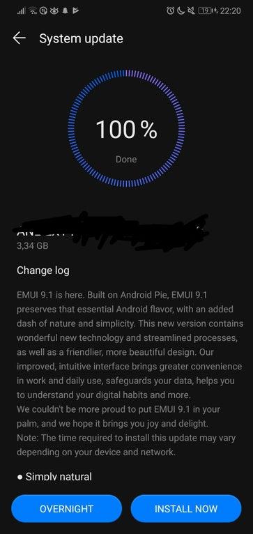 EMUI 9.1 download