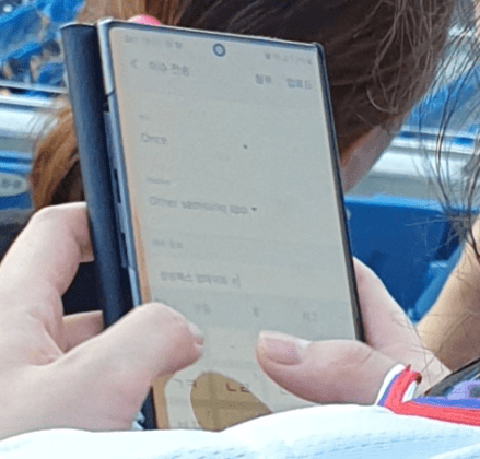Note 10+ hands-on leaked image