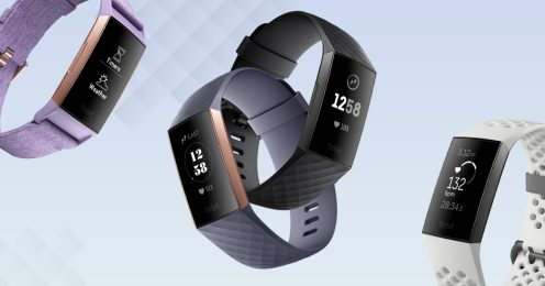Fitbit Charge 3 lineup