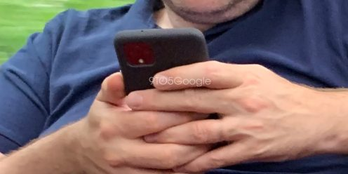 pixel 4 leak in the wild