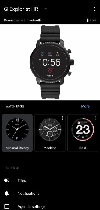 wear os tiles manager