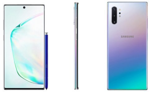 note 10 plus leak