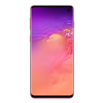 galaxy s10 cardinal red EE