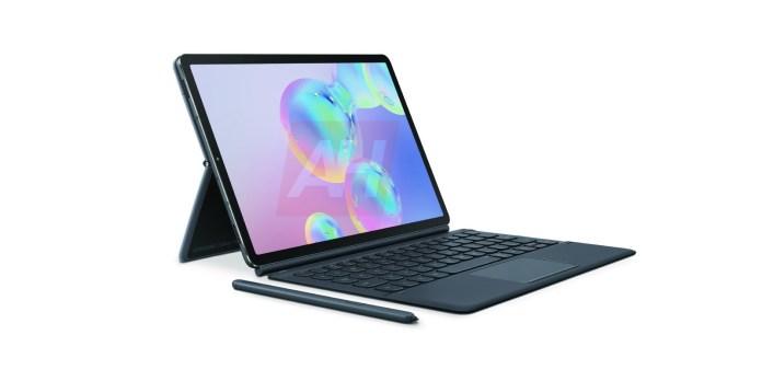 Galaxy Tab S6 Renders Leak W Official Keyboard 9to5google