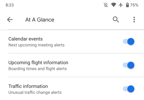 google-app-at-a-glance