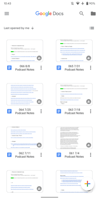 Google Material Theme revamp rolls out to Docs for Android - 9to5Google