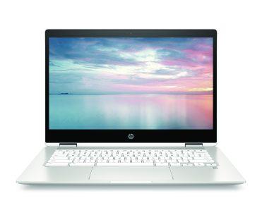 HP Chromebook x360 14b_NaturalSilver_CeramicWhite_Front