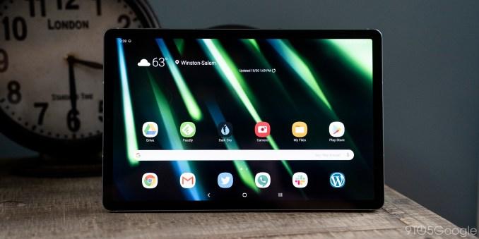 samsung galaxy tab s6 android display