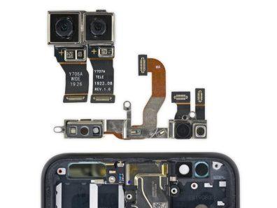 ifixit pixel 4 teardown cameras