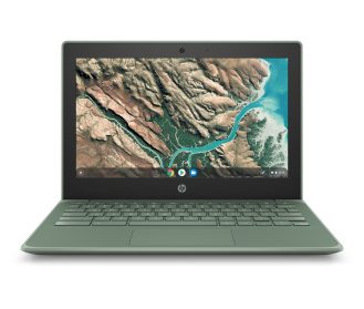 HP Chromebook 11 G8 EE_Sage Green_Front
