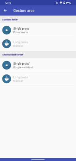 Android 10 gestures - gesturePlus