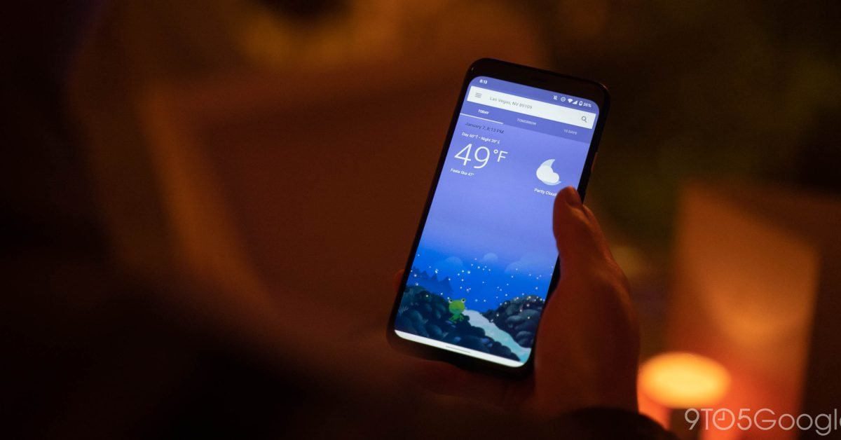 Google weather app on Android disappears for some users - 9to5Google