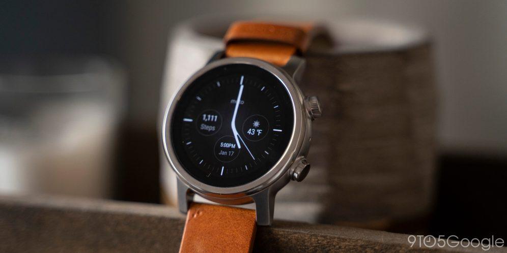 moto 360 2020 3rd gen wear os smartwatch