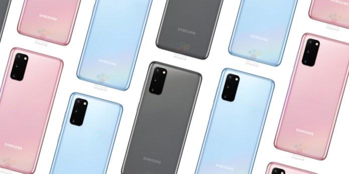 Galaxy s20  Galaxy s20 aparece na Amazon antes da estreia; Aparelho também foi visto no site da Sprint samsung galaxy s20 leaked 1