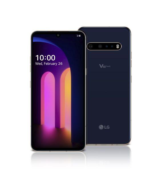 LG V60 ThinQ 5G màu xanh