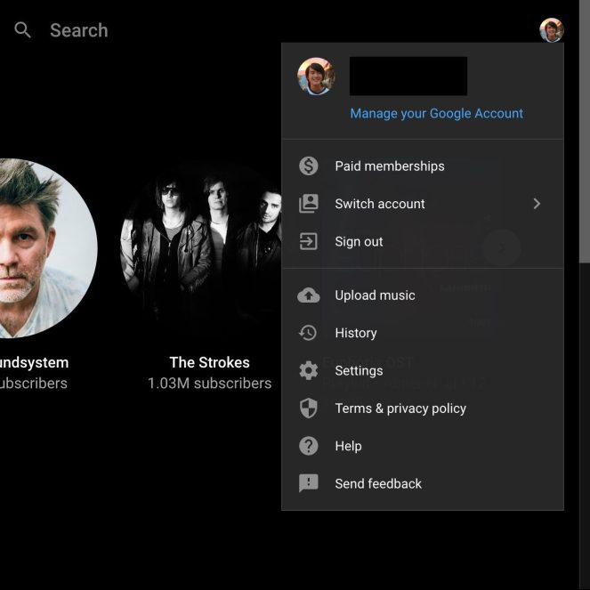 youtube-music-cloud-library