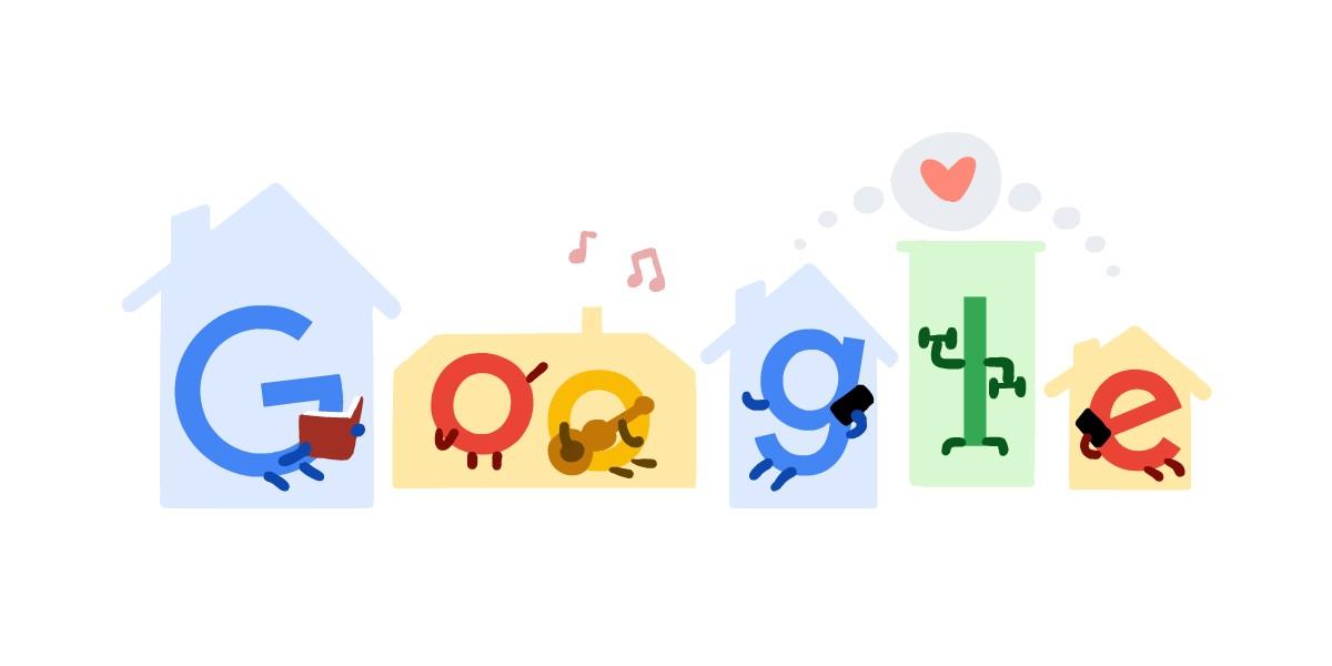 coronavirus tips google doodle 2020