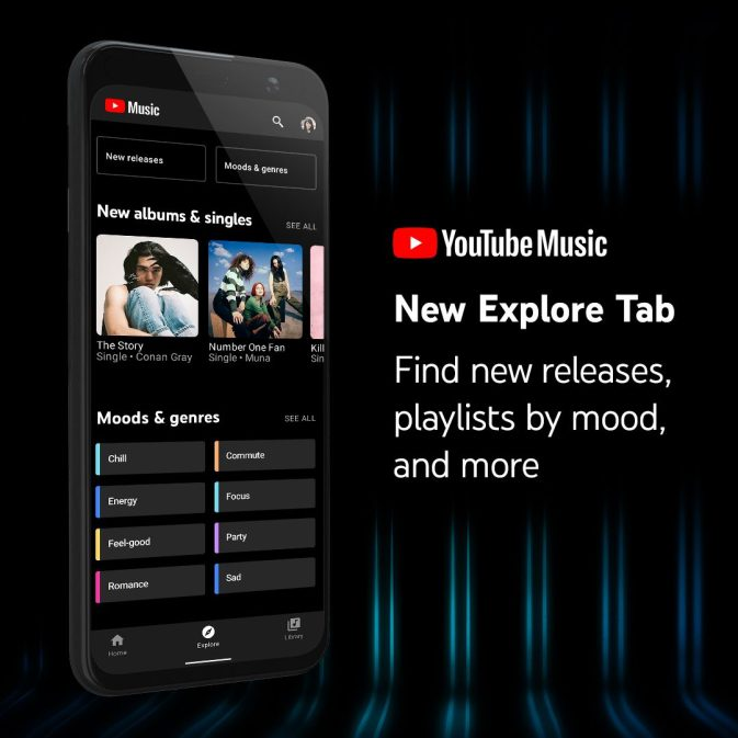 youtube-music-explore-tab