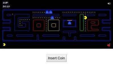 pac-man-doodle-game