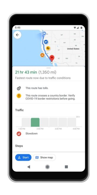 Google Maps covid transit-2