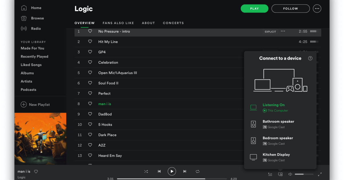Spotify's desktop app adds support for Chromecast - 9to5Google