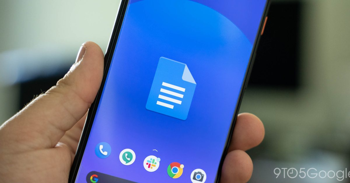Google Docs for Android adds Microsoft Office editing - 9to5Google